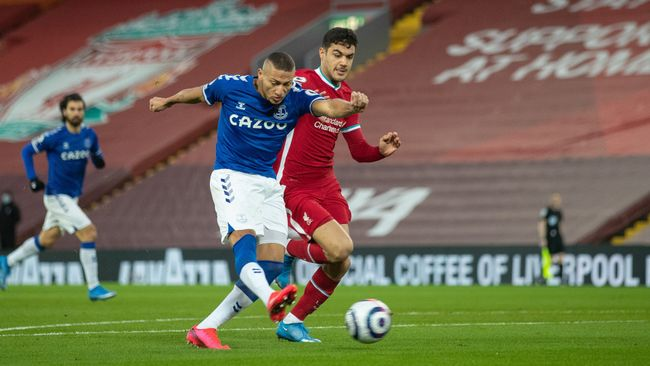 Richarlison scored the opener against Liverpool but has found goals hard to come by this term