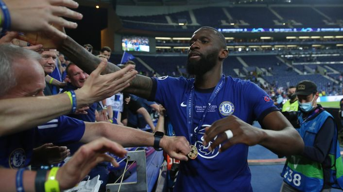Antonio Rudiger has yet to sign a new contract at Chelsea with a year left on his current deal