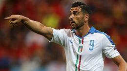 Goalscorer Graziano Pelle helped Italy beat Belgium in their Euro 2016 group clash