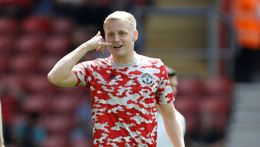 Donny van de Beek will hope for more chances after staying at Manchester United