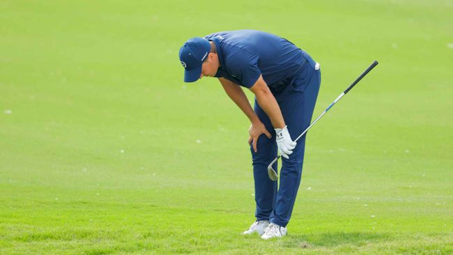 Jordan Spieth toiled on Sunday at the Charles Schwab Challenge after an excellent opening three days