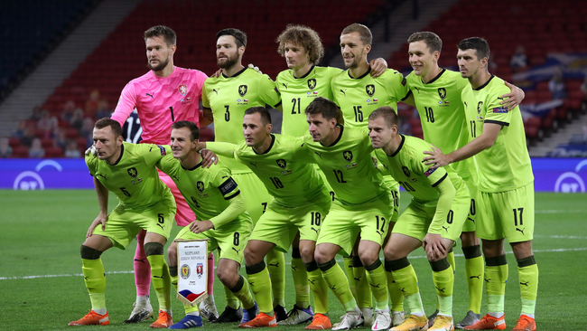 The Czech Republic face England, Scotland and Croatia in Group D