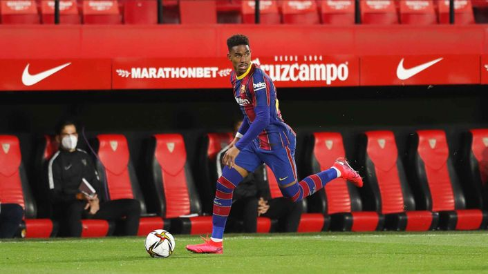 Barcelona are set to let Junior Firpo leave the club this summer