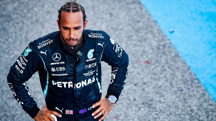 Lewis Hamilton found the going tough in his Mercedes at the Monaco Grand Prix