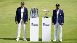Joe Root (left) and Virat Kohli (right) will look to lead their teams to victory as England face India