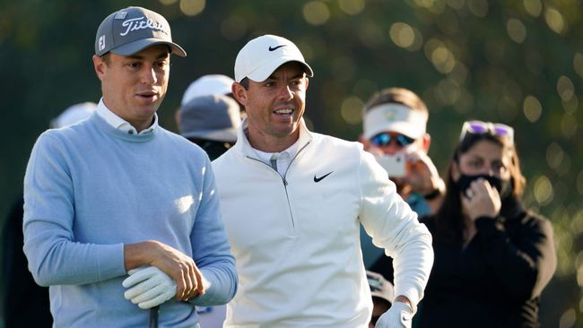 Justin Thomas and Rory McIlroy will both be in action at the Wells Fargo Championship
