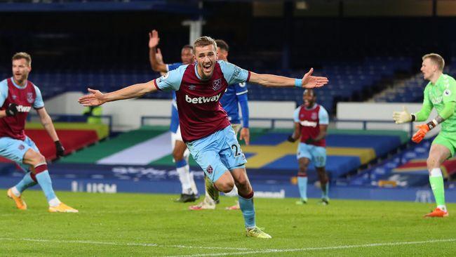 Tomas Soucek was West Ham's joint top scorer in 2020-21 with 10 goals