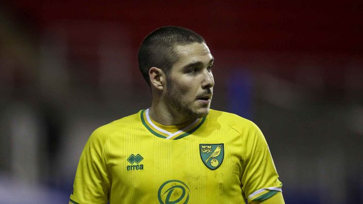 Norwich winger Emiliano Buendia is a wanted man