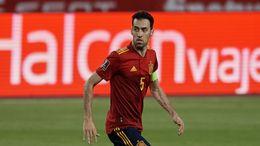Sergio Busquets is a key cog in an unheralded Spain team