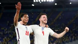 Jude Bellingham (left) and Declan Rice (right) will be hoping to help England make it through the semi-finals