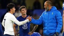 New Tottenham boss Nuno Espirito Santo was pleased as his side fought back to draw at Chelsea