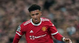 Jadon Sancho has yet to register a goal or an assist for Manchester United