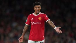 Jadon Sancho's struggles at Manchester United could yet impact his England spot