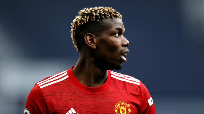 Paul Pogba has been in fine form for Manchester United recently