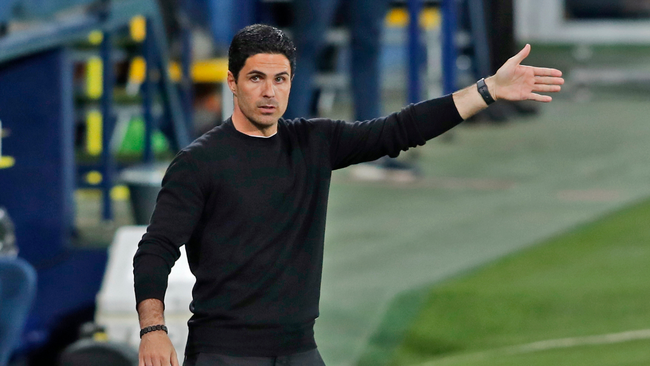 Arsenal manager Mikel Arteta is on the verge of his second final with the Gunners