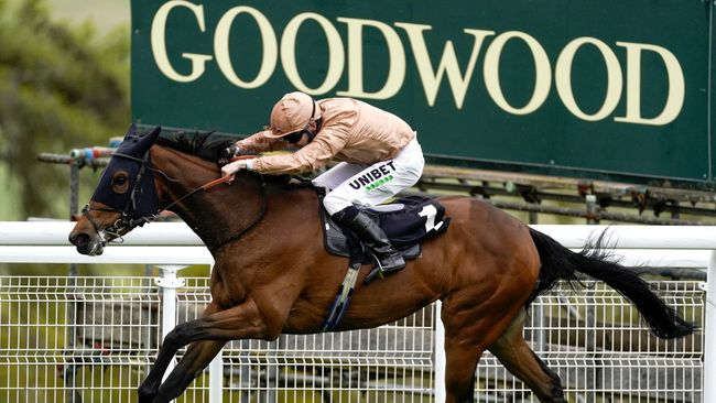Goodwood racecourse is gearing up for a bumper Sunday of action