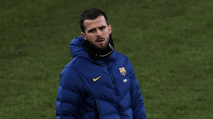 Barcelona outcast Miralem Pjanic could swap LaLiga for the Premier League this summer