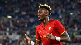Tammy Abraham has been in fine form for Roma following his summer switch to Serie A