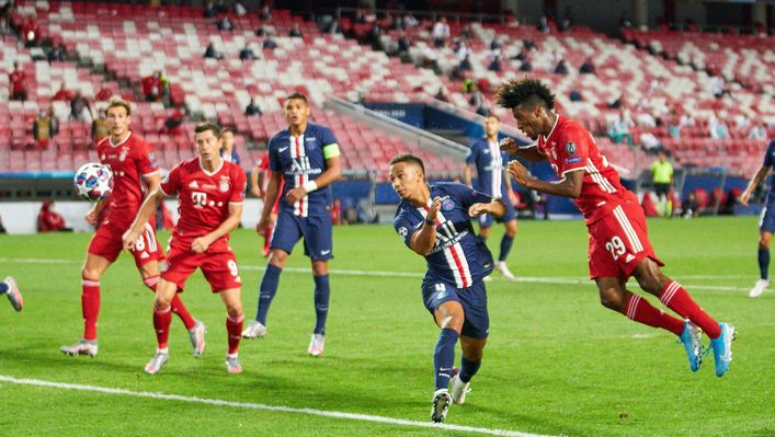 Bayern Munich and PSG meet in a repeat of the 2020 Champions League final