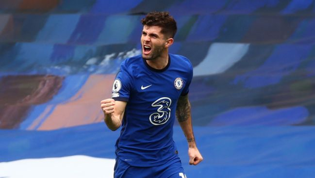 Christian Pulisic scored for Chelsea on Saturday but has struggled to nail down a spot in the starting XI