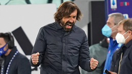 Juventus coach Andrea Pirlo faces a crunch clash against his old side AC Milan this weekend