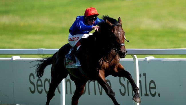 Adam Kirby steered Adayar to Derby glory