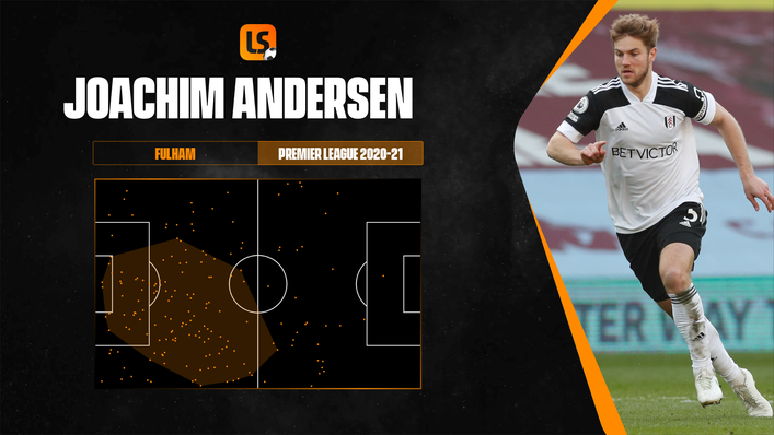 Joachim Andersen enjoyed a sensational season on loan at Fulham despite the Cottagers' relegation