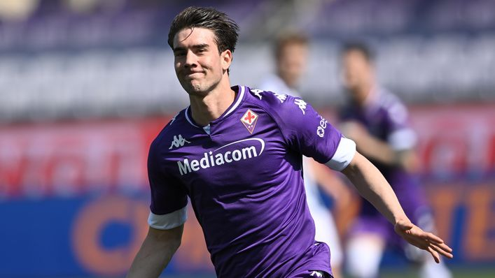 Tottenham are at the front of the queue for Fiorentina's star striker Dusan Vlahovic