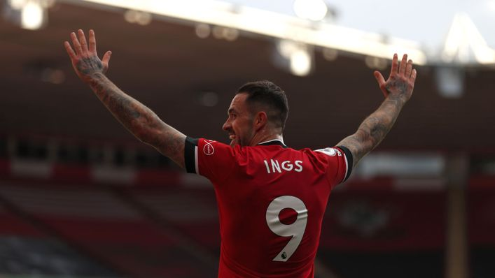 Danny Ings' goal was the difference when Southampton beat Liverpool earlier this season