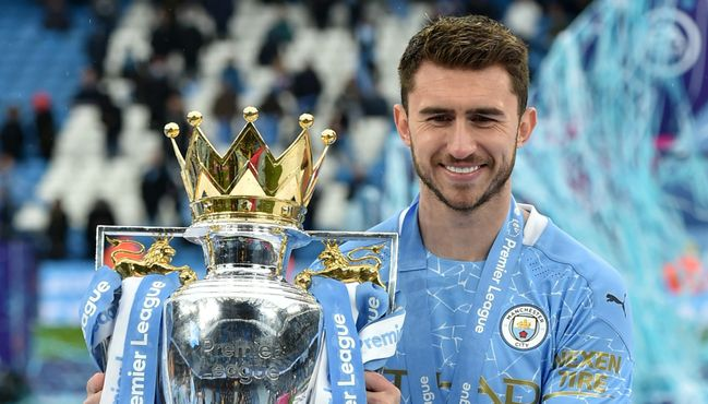 Barcelona are looking to sign Manchester City's Aymeric Laporte