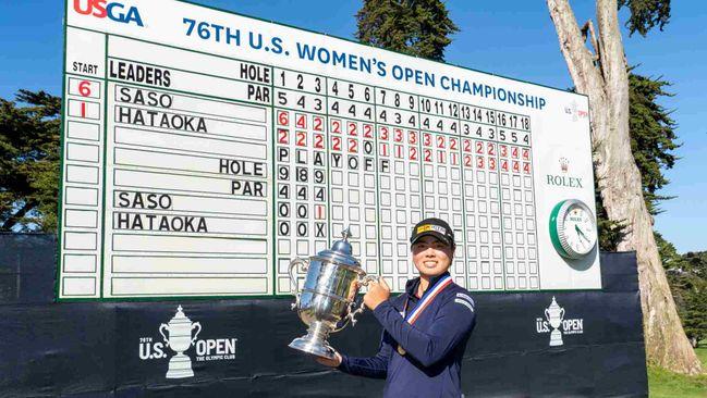 19-year-old Yuka Saso made history by winning the US Women's Open