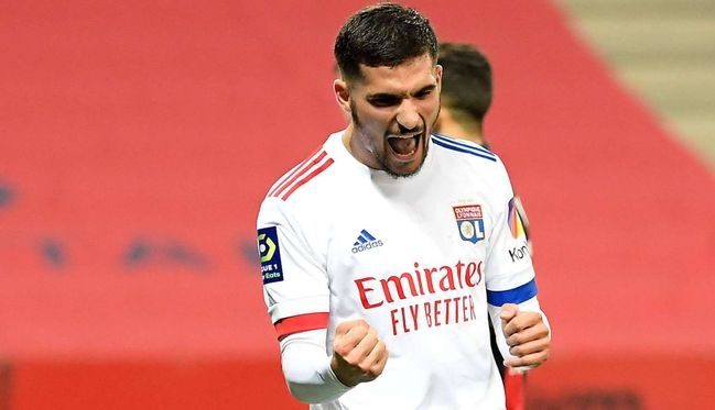 Houssem Aouar could be finally nearing a long-touted move to Arsenal