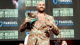 Tyson Fury is confident he will retain the WBC world heavyweight title on Saturday night
