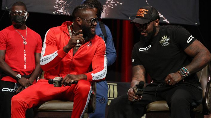 Deontay Wilder has been backed to box on by trainer Malik Scott