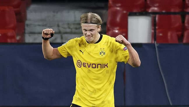 Reports suggest Chelsea are willing to splash £170 million on Borussia Dortmund's Erling Haaland
