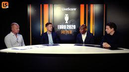 Our celebrity panel in action for the LiveScore Euro 2020 Preview Show