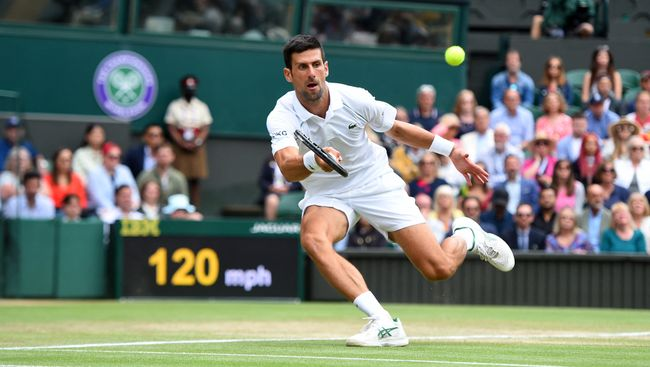 Novak Djokovic sets up the chance to win his 20th major title