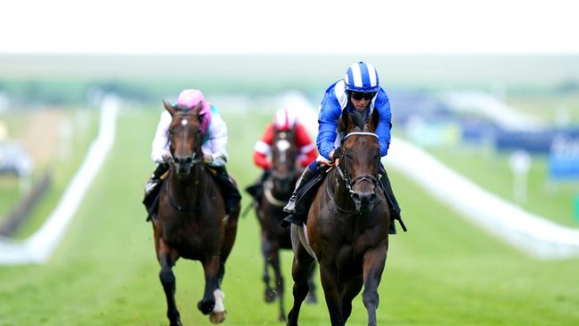 Baaeed impressed when winning the Sir Henry Cecil Stakes