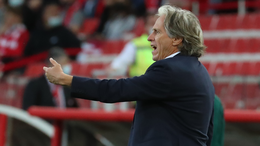Benfica coach Jorge Jesus must resurrect his side's chances of silverware in 2021-22