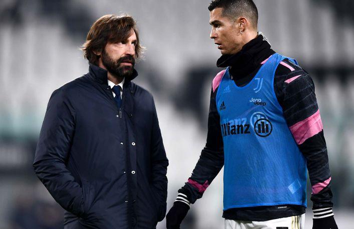 Andrea Pirlo says Cristiano Ronaldo is raring to go