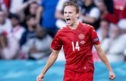 Leeds, Leicester and Tottenham are all keen to bring Denmark star Mikkel Damsgaard to the Premier League this summer
