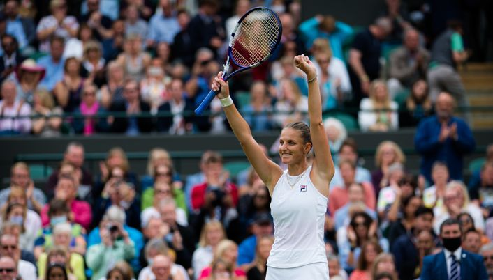 Karolina Pliskova has only dropped one set on her route to the final