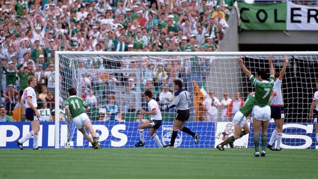 Ireland shocked the footballing world by beating England 1-0 at Euro 1988