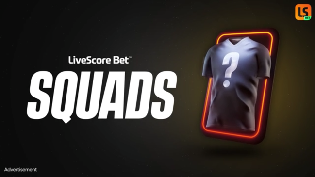 LiveScore Bet Squads is a free-to-play game during Euro 2020