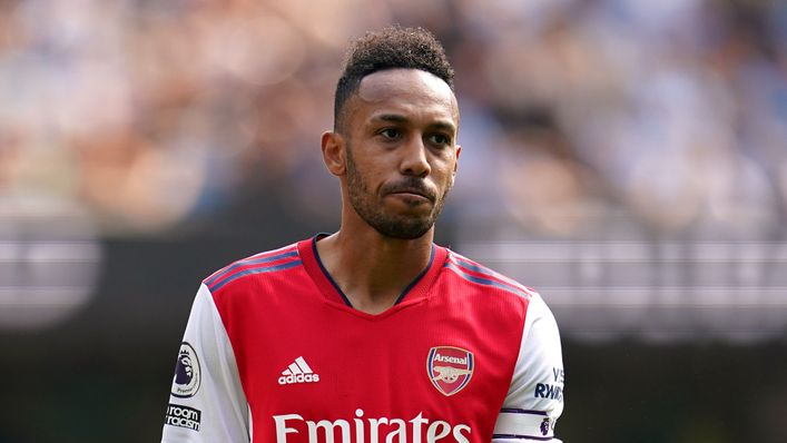 Pierre-Emerick Aubameyang and Arsenal are still searching for their first points of the season