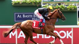 Stradivarius secured a second victory in Friday's Doncaster Cup.