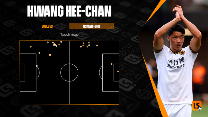 The South Korean was often found deep in his own half but netted the crucial goal from close range