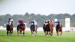 Hurricane Lane was the big winner at Doncaster racecourse yesterday