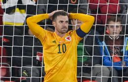 Aaron Ramsey captained Wales in their 2-2 draw with the Czech Republic and scored the opening goal