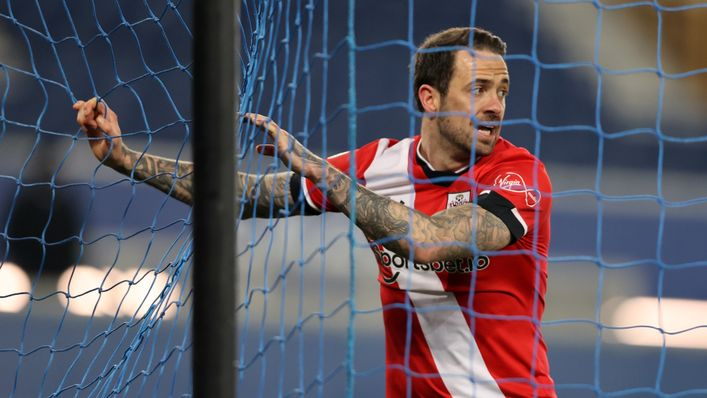 Danny Ings will look to fire Southampton to victory at West Brom